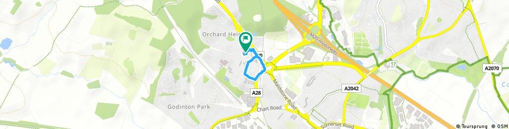 Brief bike tour through Ashford