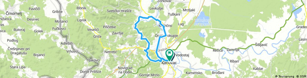 Karlovac county Cycling adventure route 8