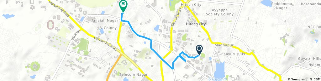 Brief bike tour from October 5, 14:03