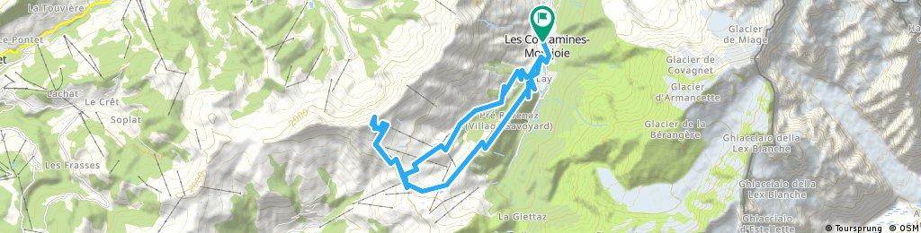 l'Aguille Croche via Col du Joly