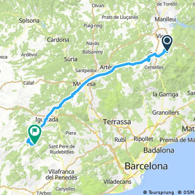 Route Spain 2017 day 3