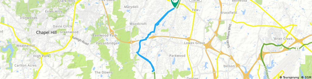 American Tobacco Trail: Solite Park to Herndon Park and back
