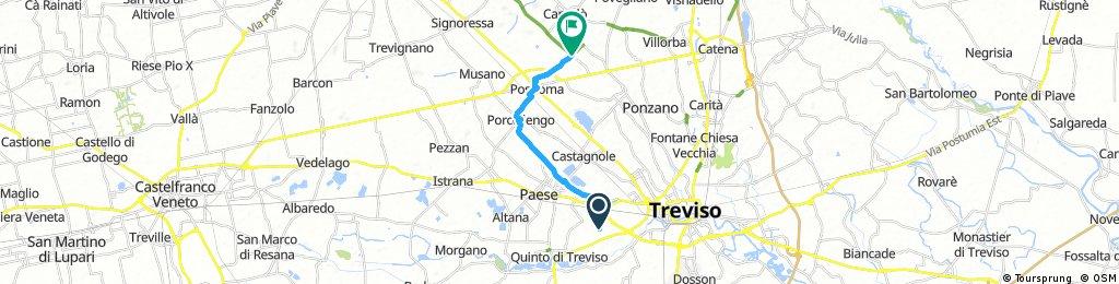 Ciclovia Muenchen Venezia - Greenway Treviso Ostiglia