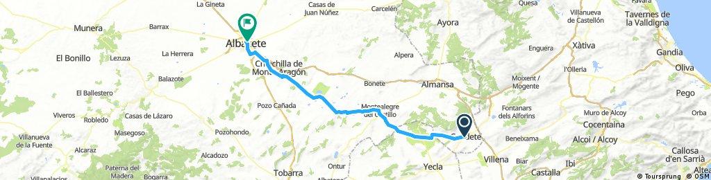 2/2 Cicloturismo C. Santiago SE. Caudete - Albacete