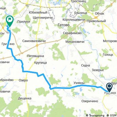 Руденск - Войровка - Фаниполь