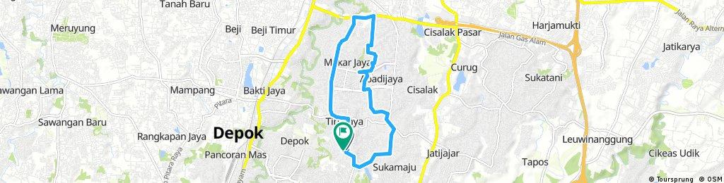 bike tour through sukma jaya