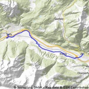 Alpencross Mai 2010 Zirl - Telfs