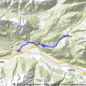 Alpencross Mai 2010 Telfs - Seefeld in Tirol