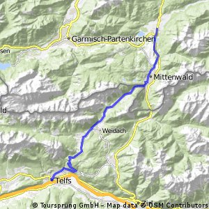 Alpencross Mai 2010 Telfs - Krüm
