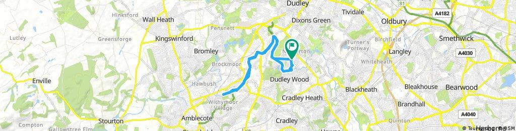 bike tour through Dudley Wood