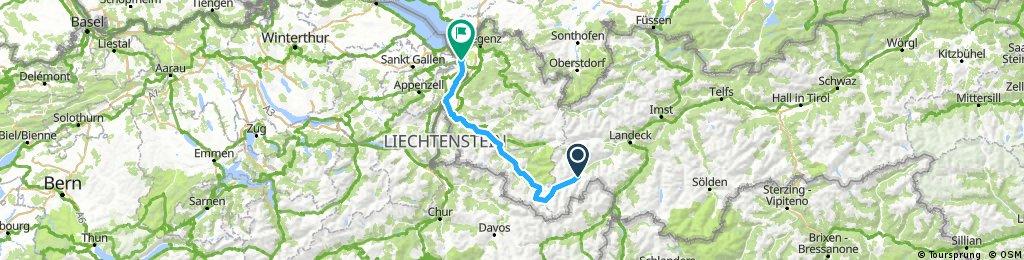 Tag 6 - Ischgl - St Margrethen