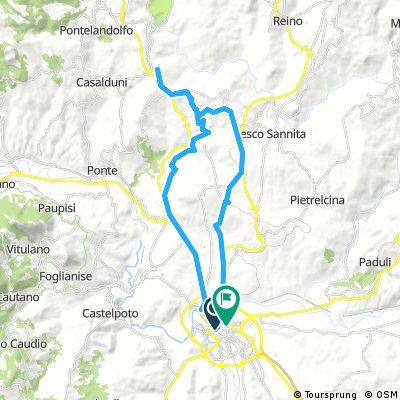 Benevento-Fragneto Monforte - Giro