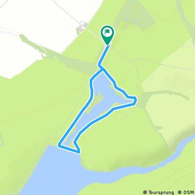 Around Harlaw reservoir
