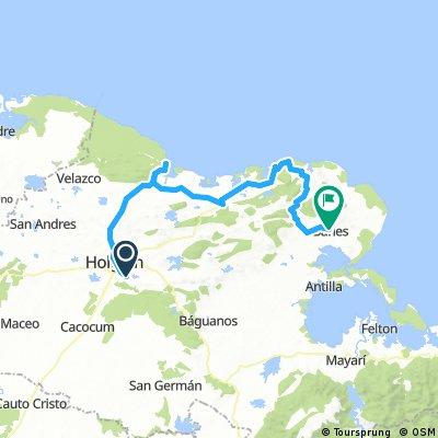Cuba 2015 1 Etappe