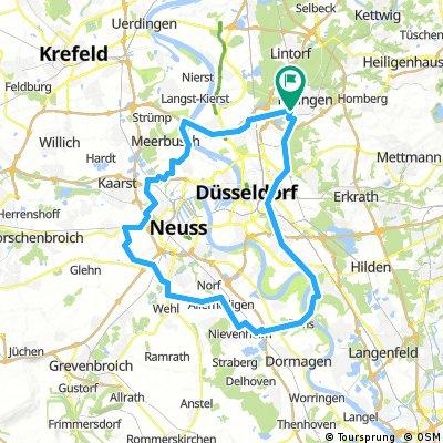 Rund um Düsseldorf und Neuss