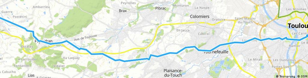 ETAPE 2 : Toulouse - L'Isle-Jourdain