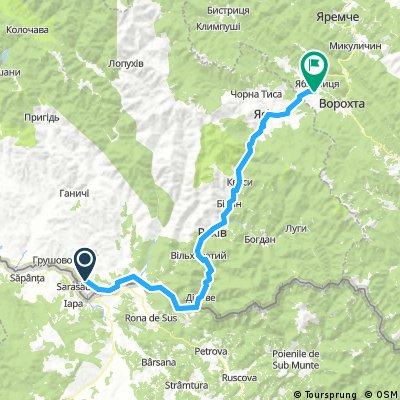 2017-09-25 Ucraina: Solotvino- Rahiv- Yasinia- Yablunytsia