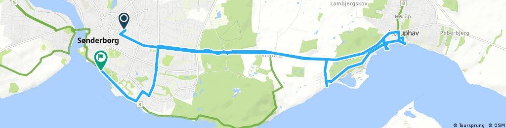 bike tour through Sønderborg