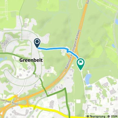 Secret Entrance to GSFC from Greenbelt