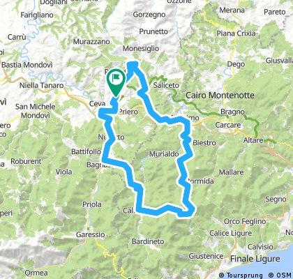 Passo Melogno - Calizzano
