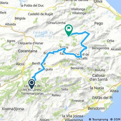 Alc - Val Torremanzanas - Alcala de la Jovada