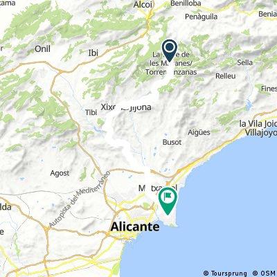 Torremanzanas - Playa San Juan (Alicante)
