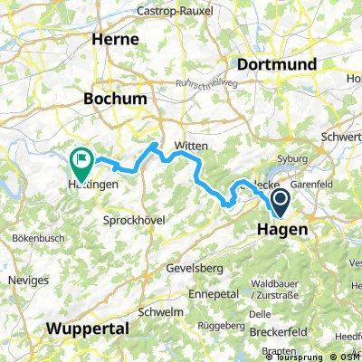 Von Hagen nach Hattingen