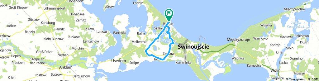 Lange Radrunde um den Gothensee