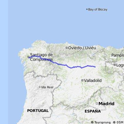 9 Los Burgos to Santiago