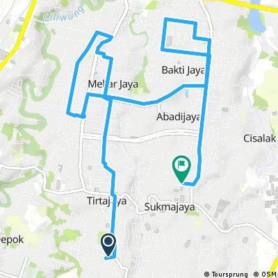 ride through Sukmajaya