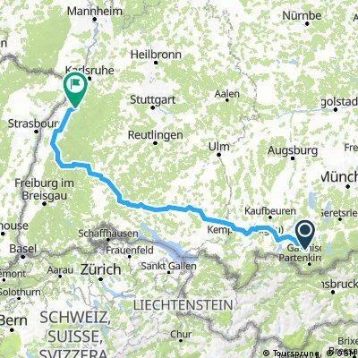 Radwege Und Routen In Und Um Oberammergau Bikemap Deine Radrouten