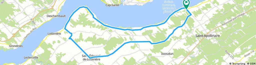 Domaine Joly-de-Lotbinière, 67 km