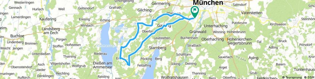 München-Andechs-München