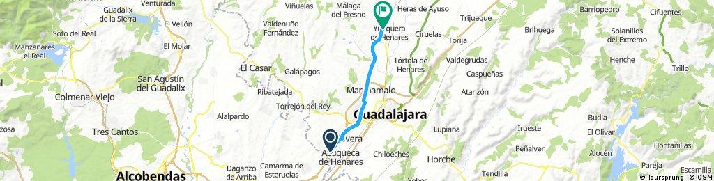 Azuqueca a Yunquera