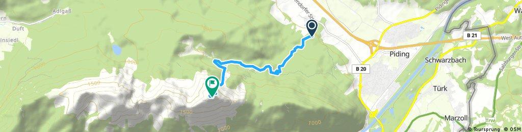 Klettersteig Piding