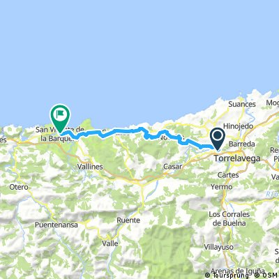 day 1 From Santander to Galicia