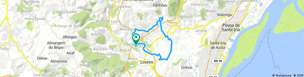 ride through Loures