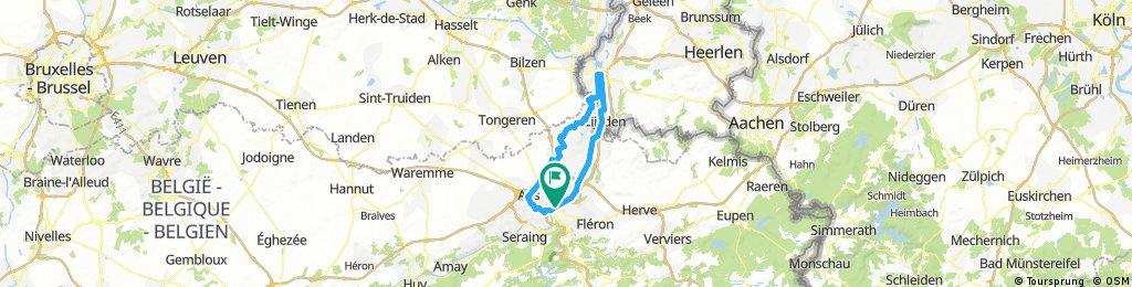 Liege - Maastricht avec détours