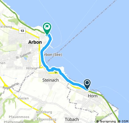 Kurze Ausfahrt durch Arbon