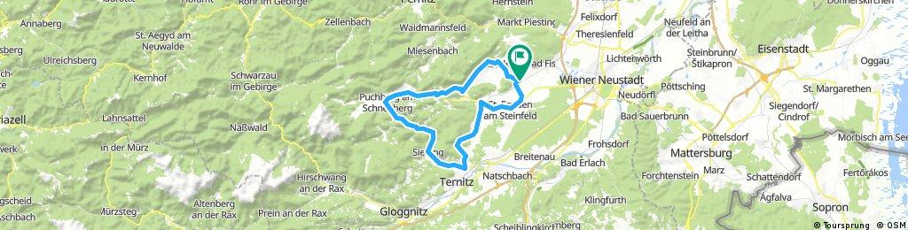 Winzendorf-Hohe Wand-Puchberg-Ternitz-Flatz- Winzendorf -
