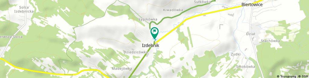 Brief bike tour through Izdebnik