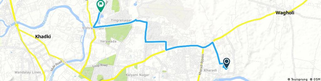 ride through Pune