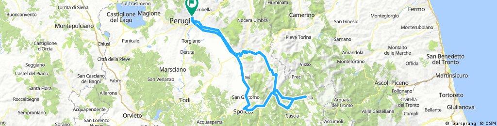 Perugia/Norcia/Perugia