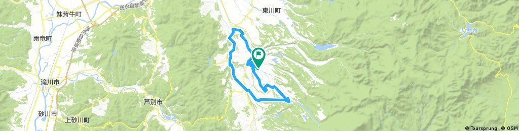 美瑛世紀單騎路線 60km