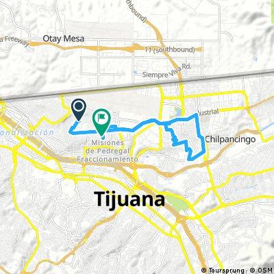 En preparación para Telnorbike tour through Misiones de Pedregal Fraccionamiento