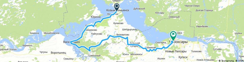 Козьмодемьянск - Чебоксары