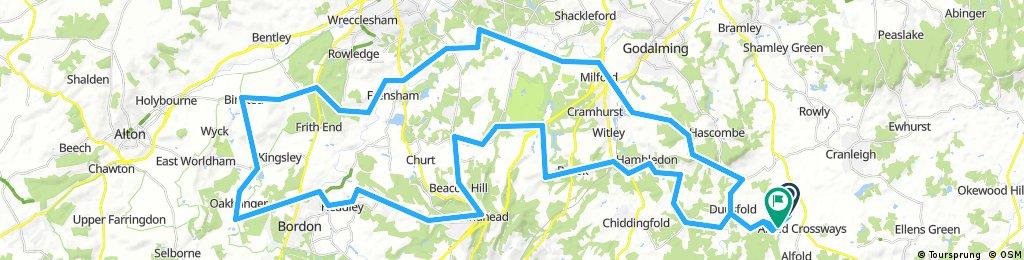 Wiggle Devils Punch Sportive - 54m / 87km
