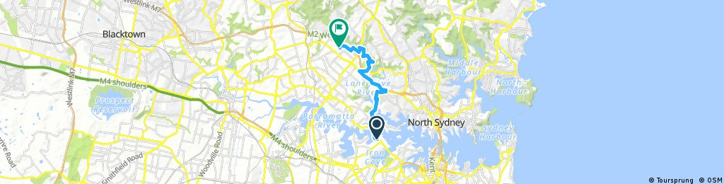 Drummoyne to Macquarie University