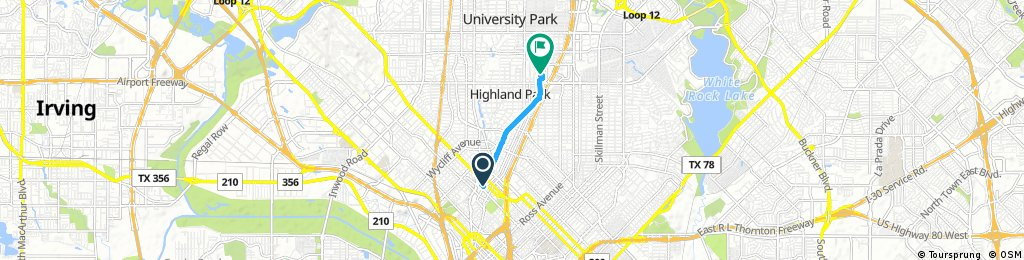 Katy Trail to SMU