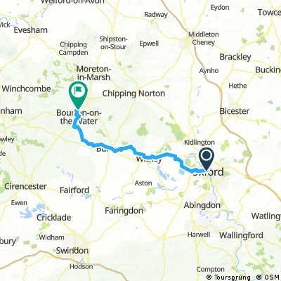 Cotswold 1, Oxford-Slaughters